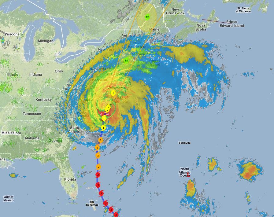 Hurricane Irene 8.27.11